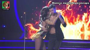 Mónica Jardim sensual no dança com as estrelas