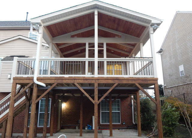 Built 3   Rustic by    sign jones Cary Pro   Porch  raleigh shop Room   Season 2  rustic