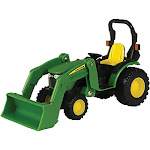 John Deere Tractor with Loader 1