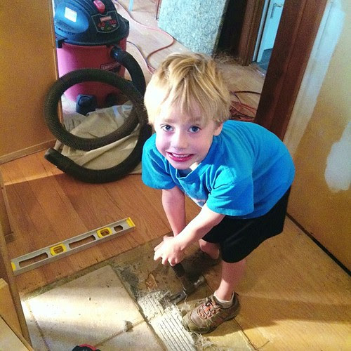 Daddy's helper...#macehouse
