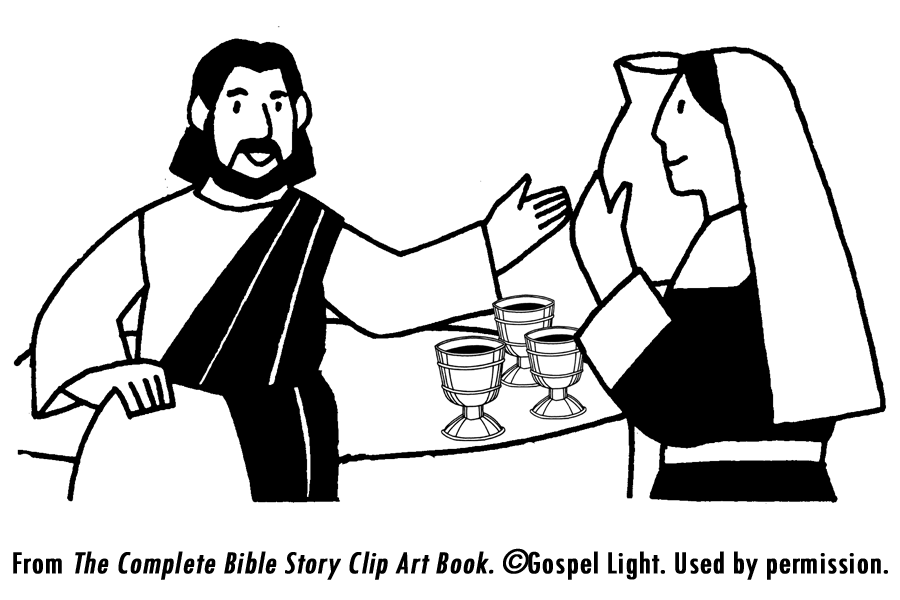 54 Top Bible Coloring Pages Wedding At Cana Download Free Images
