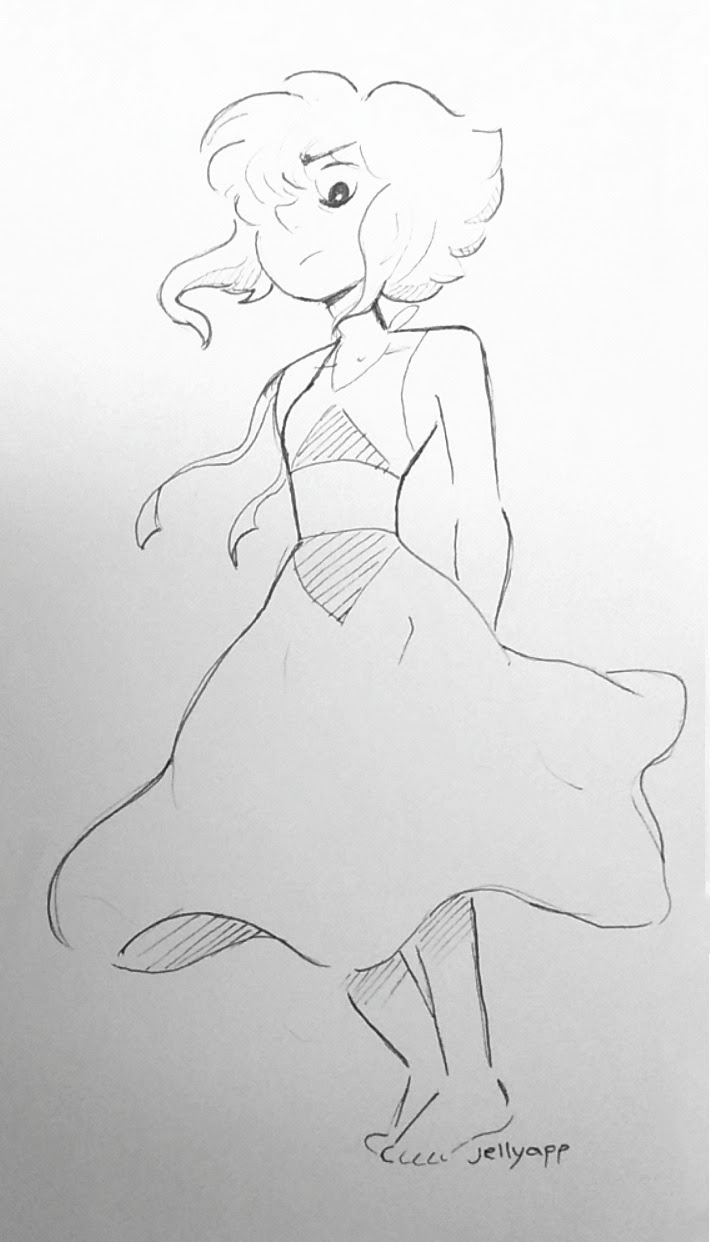Hand drawn lapis