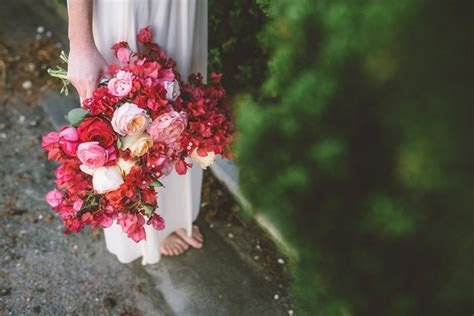 Bougainvillea wedding decor   Anna Delores Photography