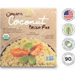Healthee Organic Coconut Brown Rice 3 Bowls