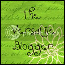 Versatile Blogger,Award
