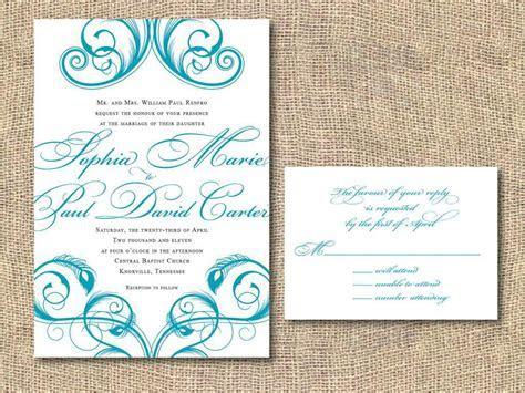 Wedding Invite Template : Wedding Invitation Templates