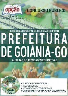 Apostila SME de Goiânia para Auxiliar de Atividades Educativas
