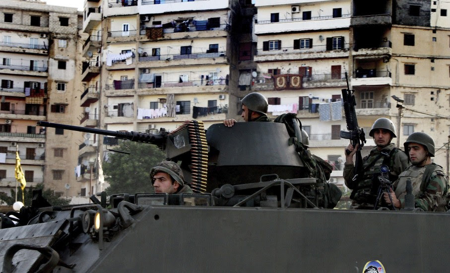 Disturbios en Trípoli