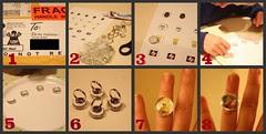 Glass Magnet Rings