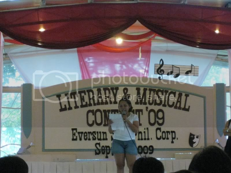 Literary and Musical Contest of Eversun Software Phils Corp at Jack Ridge
