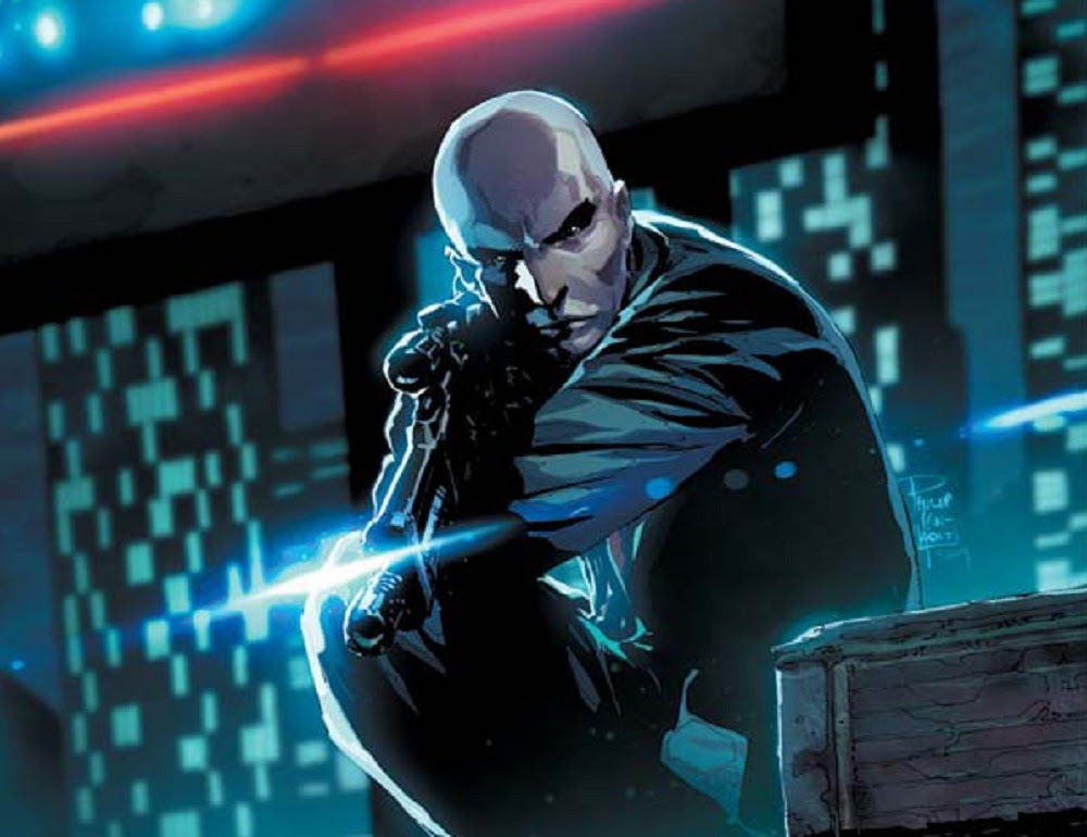 Agent 47's Hitman origins being adapted into comic series screenshot