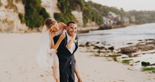 Dreamy wedding overlooking the sea in Bali | Libby & James - Chic & Stylish Weddings