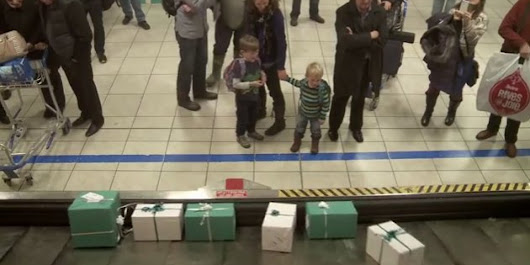 WATCH: The Ultimate Baggage Claim Surprise