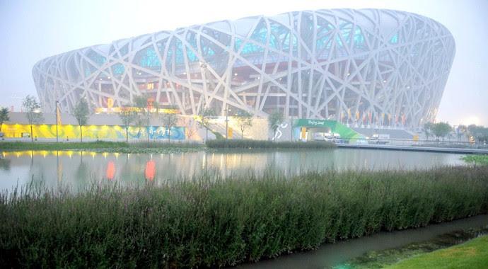 Ninho do pássaro Pequim 2008 (Foto: Arquivo)