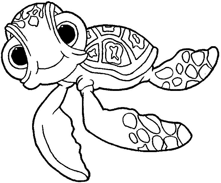 Dory Finding Nemo Coloring Pages Coloring And Drawing