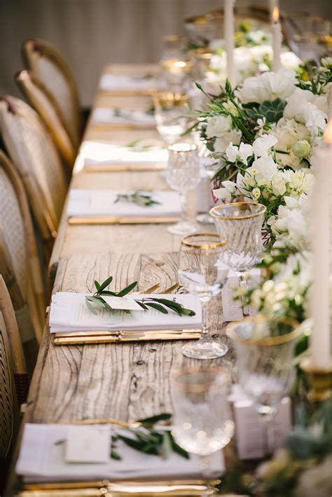 Green Wedding Table Decorations   Wedding Ideas By Colour