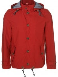 Topman Red Lightweight Hoody