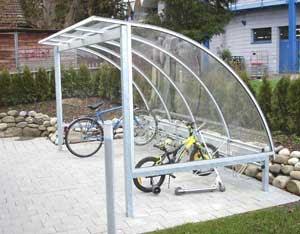 Tettoia per biciclette amazon