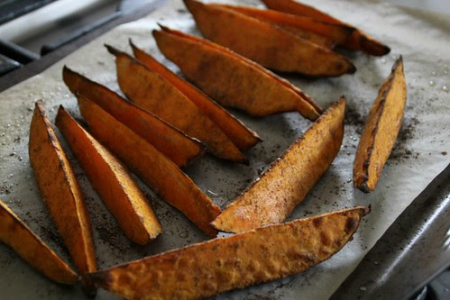 Sweet Potato Wedges with Lemongrass Creme Fraiche 4