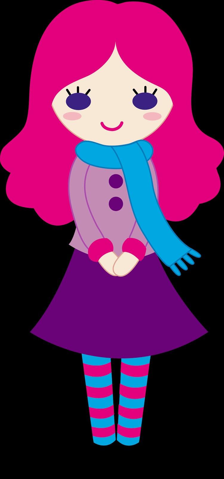 Gambar Animasi Lucu Warna Pink Cugam