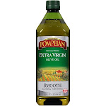 Pompeian Olive Oil, Extra Virgin, Smooth - 32 fl oz