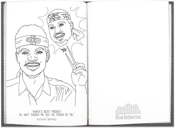 Book Chance The Rapper Album Cover Coloring Pages Coloring Pages