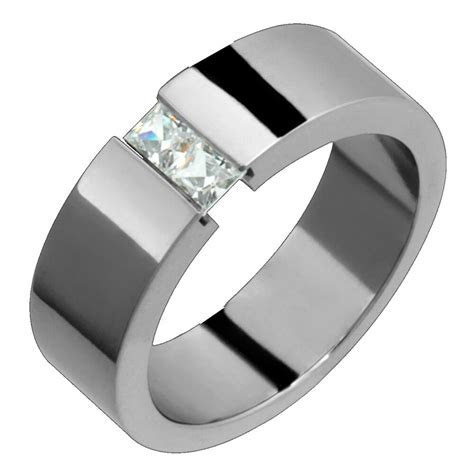 Womens Diamond Rings Titanium & Diamond Rings Engagement