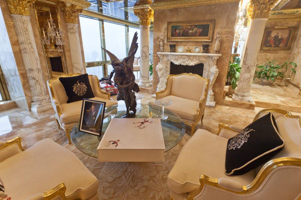 Saiba como é a casa de Donald Trump