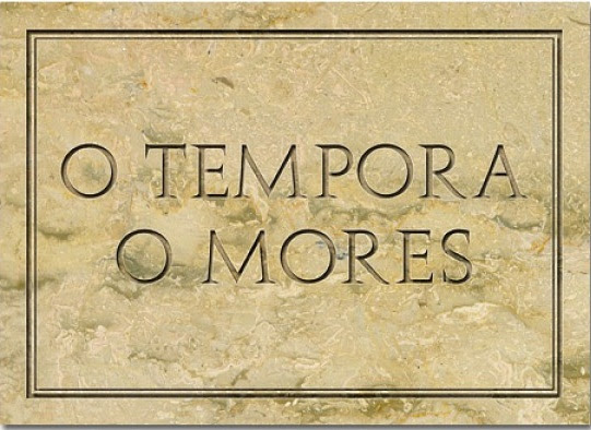 Αποτέλεσμα εικόνας για O tempora! O mores!