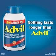 Advil 200mg Tablet, 360-Count