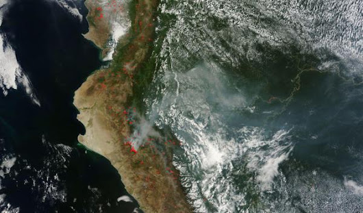 Signals of Climate Change Visible as Record Fires Give Way to Massive Floods in Peru
