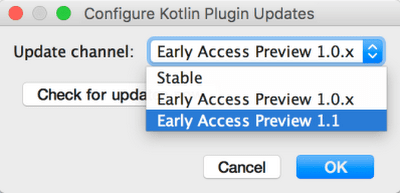 First glimpse of Kotlin 1.1: Coroutines, Type aliases and more