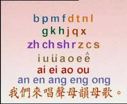 中英文兒歌 Kids Songs: 聲母韻母歌 聲母歌 韻母歌(普通話)