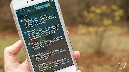 Notification Center tips: How to customize sort order in iOS 9