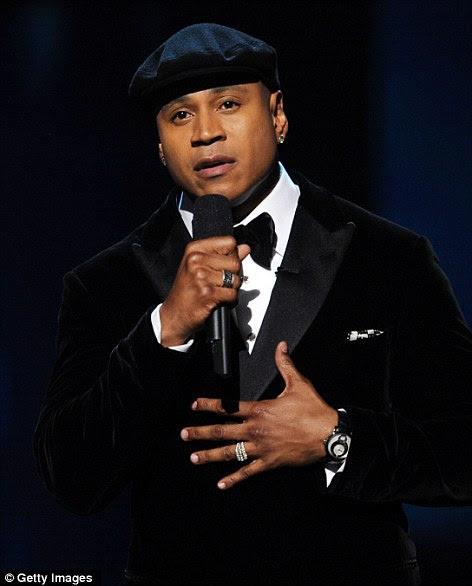 Faça uma pequena oração: Host e rapper LL Cool J iniciou um processo através do pagamento de tributo à Whitney a indústria do 'caído irmã Houston
