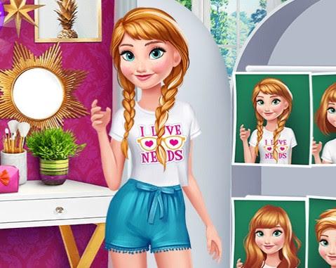 Anna Vs Elsa Oyunu Oyna Giydirme Oyunları