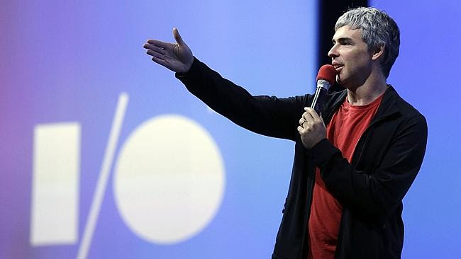 With a net worth of $A35.3 billion, Larry Page now focuses on Google's long-term strategy