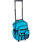 Everest Deluxe Rolling Backpack, Turquoise