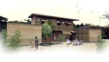 Projecto do atelier blaanc: casas para a classe emergente do Gana. Foi com esta experiência que o atelier percebeu que tipo de trabalhos lhe interessava fazer
