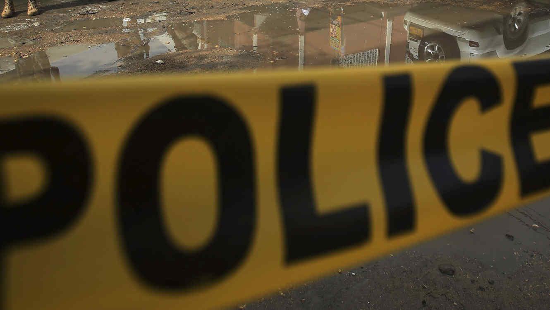 Aviso policial, en una imagen de archivo.