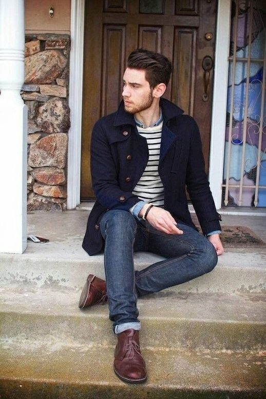 25 Stylish Hot Guys In Stripes -- Edward Honaker -- Coat, Denim and Boots -- Mens Style Blogger photo 17-25-Stylish-Hot-Guys-In-Stripes-Edward-Honaker-Coat-Denim-Boots-Mens-Style-Blogger.jpg