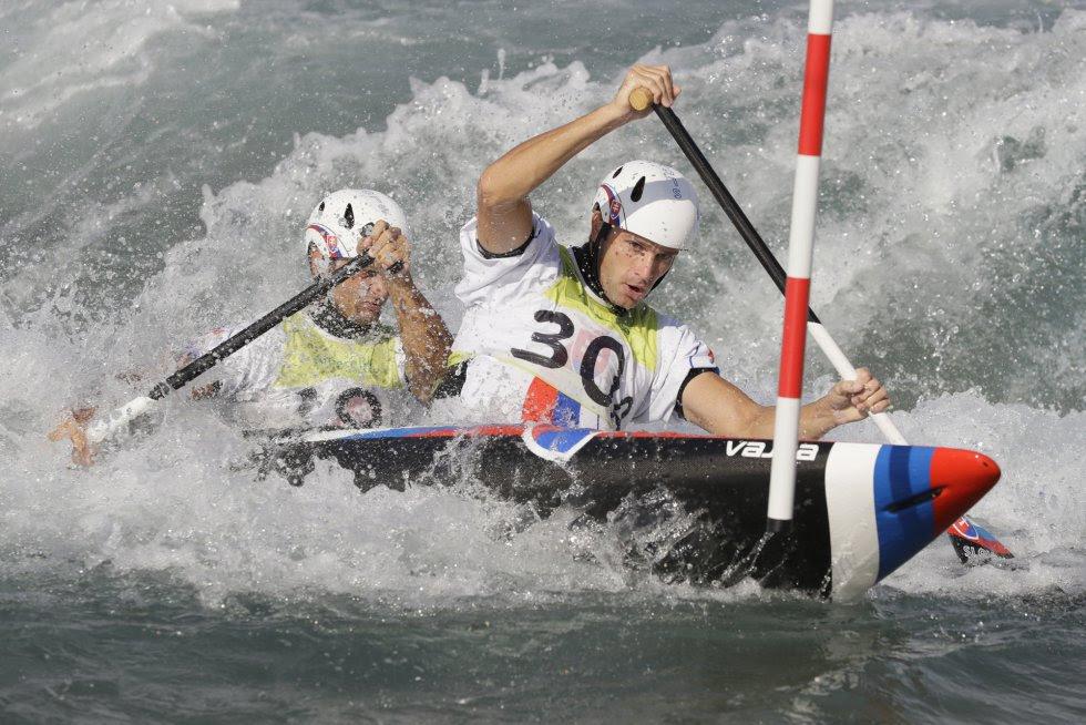 Ladislav Skantar e Peter Skantar, da Eslováquia.