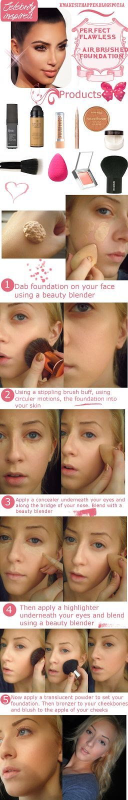 MAKEUP TRICKS 鈥?Flawless, Airbrushed Looking Foundation
