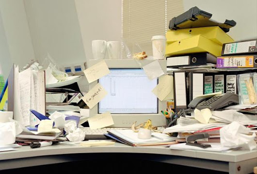 10 Tricks To Spring Clean Your Office - pg.1