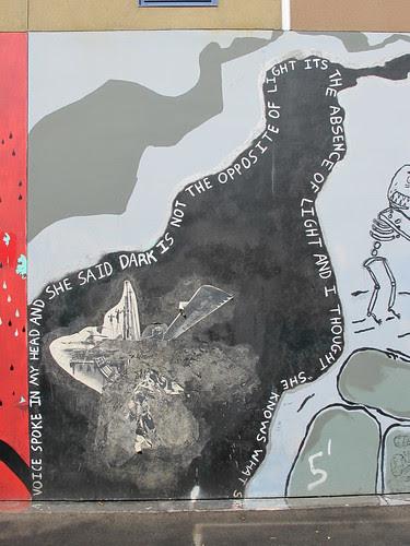 dark mural
