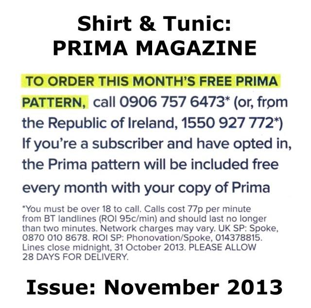 Prima Magazine - Pattern, November 2013 (04)