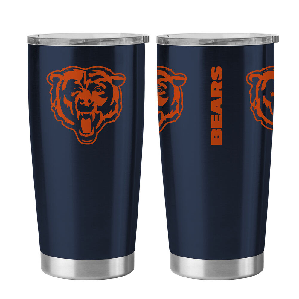 Chicago Bears Travel Tumbler  20oz Ultra [NEW] NFL Cup Mug Coffee  eBay
