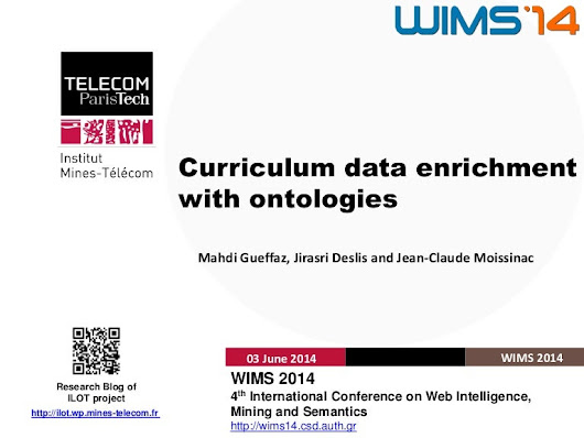 Curriculum data enrichment with ontologies