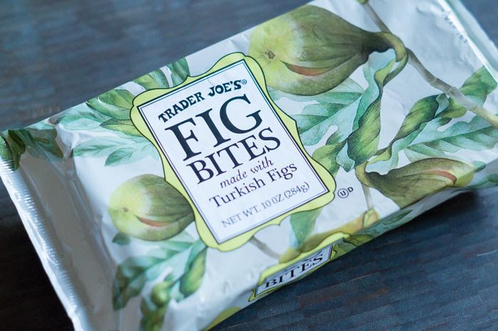trader joe's super fig bites review : part of a weekly review series of tj's desserts and treats