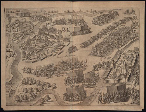 Arnheim - Knodsenburg - Nijmwegen (c 1600)